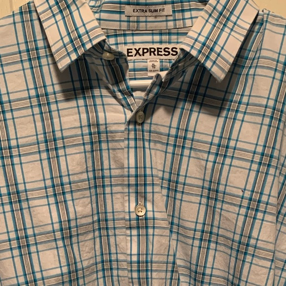 Express Other - Express Extra Slim Fit Long Sleeve Shirt